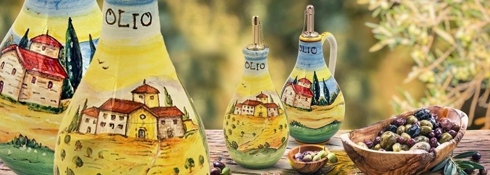 Bottiglie per Olio